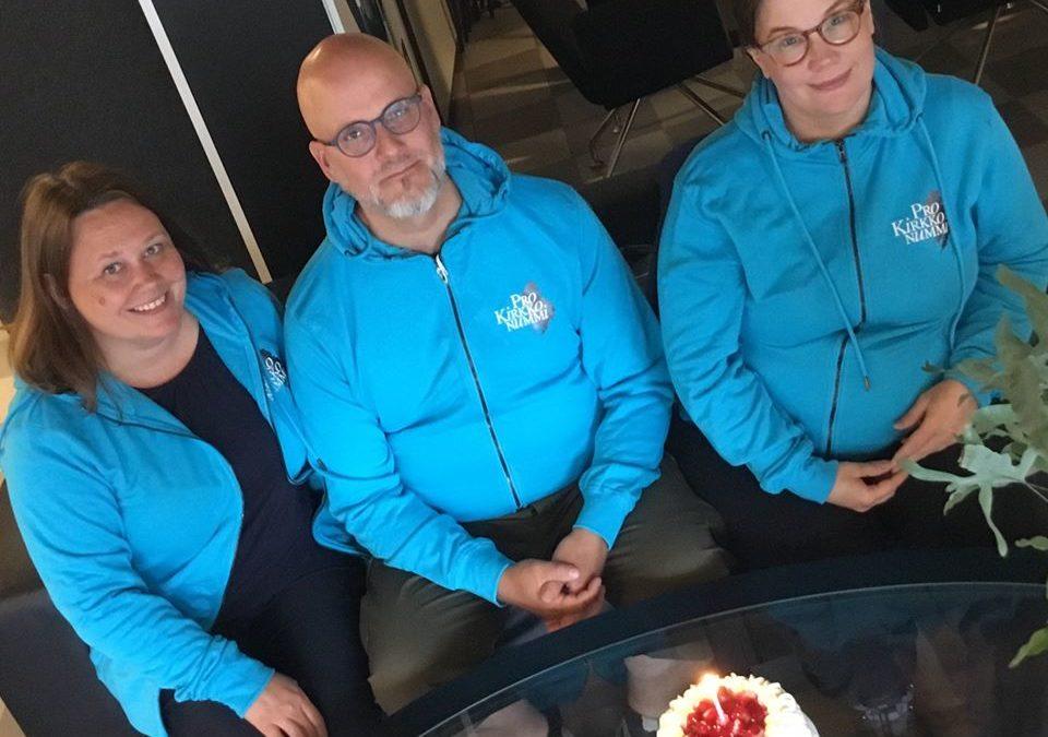 Pro Kirkkonummi ry / Pro Kyrkslätt rt. 1 vuotta!